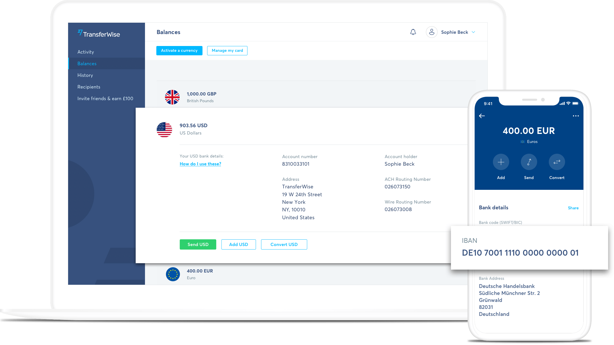 free online multi-currency account - transferwise