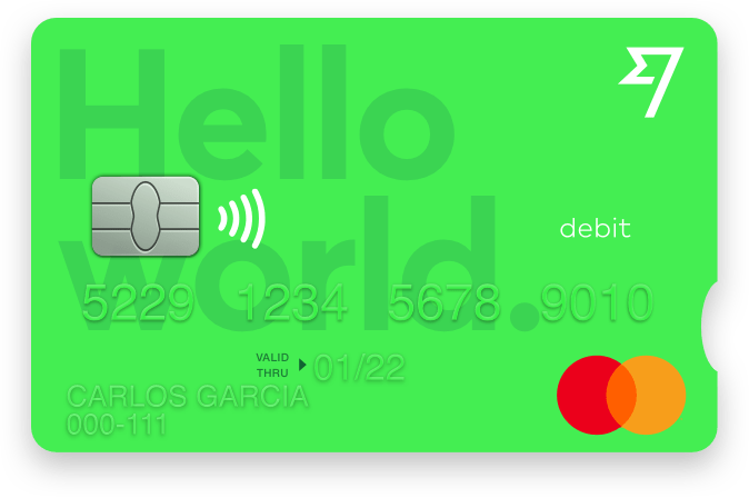 TransferWise Borderless card